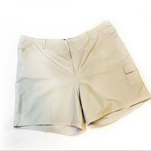 Columbia•Khaki Cargo Outdoor Shorts 20W